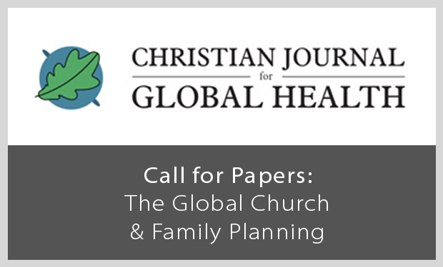 Call for Papers: The Church & Family Planning