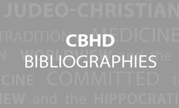CBHD Bibliographies
