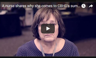 Why One Nurse Comes to the CBHD Conference