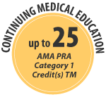 Up to 25 CME Credits