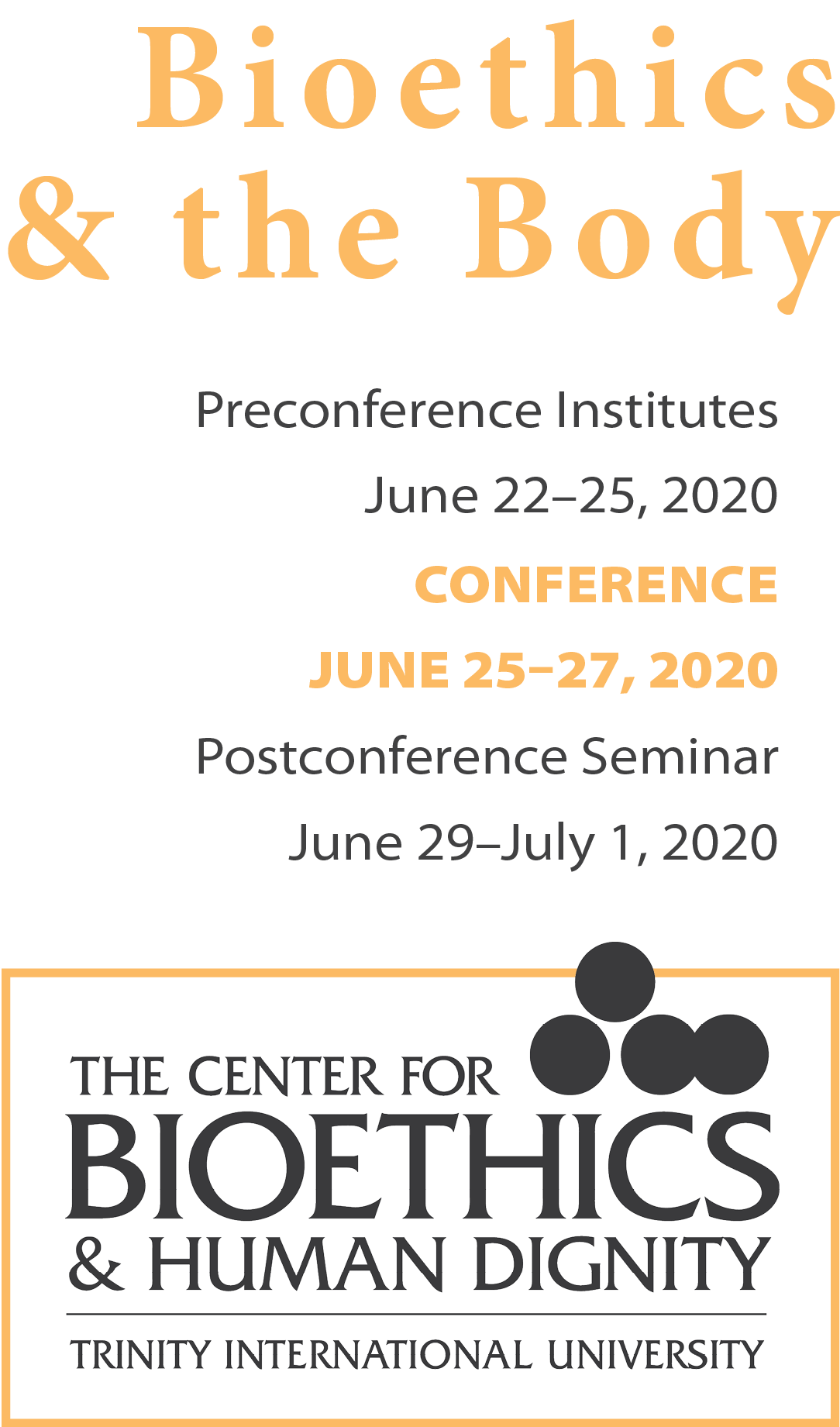 annual conference dates